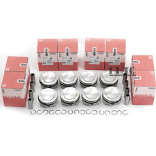 8x Pistons Rings Kit STD Mahle Φ89mm For BMW X5 X6 M E70 E71 S63B44A 4.4T 555ps