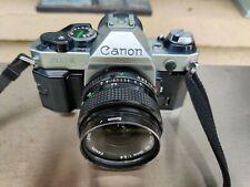Canon AE-1 Program 35mm SLR Film Camera with Canon FD 28mm 2.8 Lens
