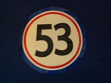 Disney's Love Bug, Herbie, #53 Car Magnet - Rare!!