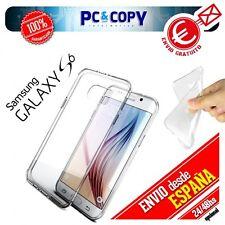 Funda gel TPU flexible transparente para Samsung Galaxy S3 S4 S5 S6 Xperia Z1 Z3