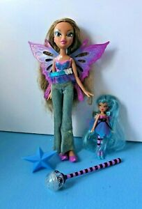 Bratz doll yasmin pixie with wings and smaller pixie doll