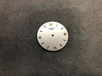 Original Tissot Watch Dial Dials Replacement Part Silver Color Swiss Made Round