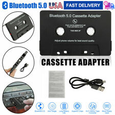 Hands-Free Wireless Mp3 Aux Bluetooth 5.0 Car Audio Stereo Cassette Tape Adapter