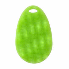 Soft Silicone Sponge Scrubber Kitchen Tool Fruit Dish Washing Household Cleaning