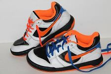 Nike 6.0 Twilight Casual Sneakers, #33270-100, Wht/Blk/Org/Blu, Youth US Size 4Y
