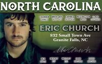 toy North Carolina DRIVERS LICENSE Country Singer fake id card Drivers License
