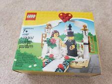 LEGO 40197 Wedding Mini Figs Figures Bride Groom Cake Table Set NEW SEALED