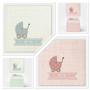 Baby Box Keepsake Gift New Baby Christening Gift East of India Pink or Blue
