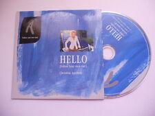Christina Aguilera / Hello (follow your own star) - cd promo