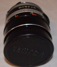 TAMRON LENS MOUNT SR-T No. 208123 AUTO 1:2.8 MADE IN JAPAN INCLUDES CASE
