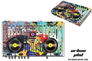 Skin Decal Wrap Denon DN MC 6000 DJ Controller Interface Pro Audio Sticker URBAN