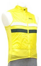 Rapha Brevet Insulated Gilet Vest Men MEDIUM Yellow Road Bike Gravel Mountain