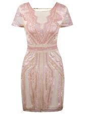 1920s Flapper Dress Short Prom Dresses V Neck Back Inspired Sequins Evening Gown