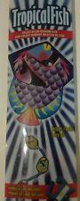 "Tropical Fish Kite by X-Kites 25"" Wide Deluxe Nylon Diamond Fiberglass Frame NEW"