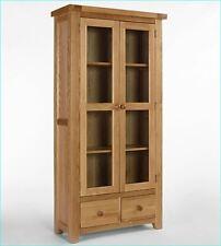 Devon Oak Display Cabinet