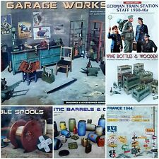 MiniArt 1/35 Figures Buildings & Accessories New Plastic Model Kit Mini Art 1 35