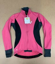 Castelli Trasparente 2 Wind Stopper LS Jersey Women's Small Pink New with Tags