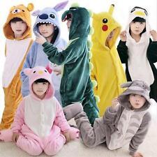 Kids Children Unisex Kigurumi Animal Jumpsuit Cosplay Costume Pajamas Sleepwear