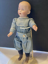 Working Bellows All Original Whistling Jim Antique Doll Germany Bisque Heubach
