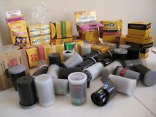 lot of 60 Agfa Kodak Fuji 35mm Unused Expired film + 2 Bulk 50 feet long NoResrv
