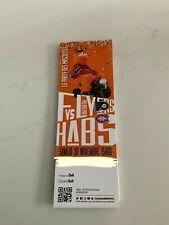 unused hockey tickets Montreal Canadiens Le Party des mascottes nov 30