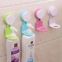 Chic Lovely 1pc Wall Suction Rack Shelves Shower Gel Liquid Soap Holder