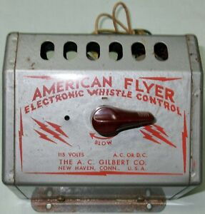 American Flyer 1950 Whistle Control (FOR PARTS)