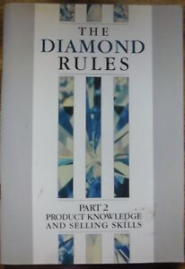 THE DIAMOND RULES.....DR JOHN HEMINGWAY..43 PAGES.. VERY GOOD COPY..Paperback..