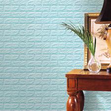 PE Foam 3D DIY Wall Stickers Wall Decor Embossed Brick Stone Room Decor Backdrop