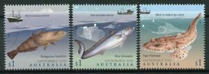 Australia 2019 MNH Sustainable Fish Fishing 3v Set Boats Ships Marine Stamps