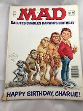 Mad Magazine April 1983 No 238  Happy Birthday Charles Darwin vintage