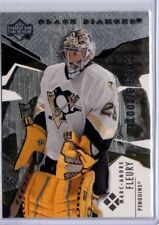 2003-04 BLACK DIAMOND MARC ANDRE FLEURY #198 ROOKIE CARD