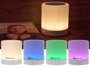 Rockville PBL30 Rechargeable Camping/Hiking Lantern LED Light Bluetooth Speaker