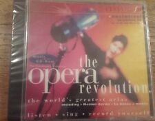 """Various """"The Opera Revolution"""" CD The Greatest Arias Classic Fm BRAND NEW SEALED"""