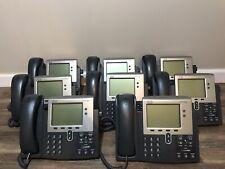 Cisco 7942g IP Phone  (Lot Of 8)