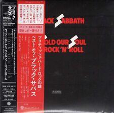BLACK SABBATH WE SOLD OUR SOUL... JAPAN MINI LP CD POCE 1103/4 OBI PROMO OBI