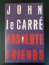 le Carré, John: Absolute Friends - Very fine signed first edition!