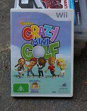CRAZY MINI GOLF - Nintendo WII Game