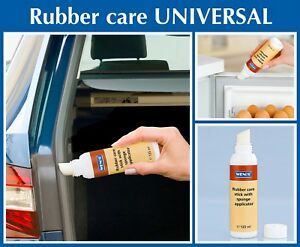 Set Of 2 Wenko Rubber Care Stick Universal 2X 125ML *UK SELLER RAPID DISPATCH*
