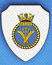 HMS QUILLIAM WALL SHIELD