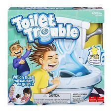 1x Hot New Toilet Trouble Hilarious Game With Flush Sound Effects Gift