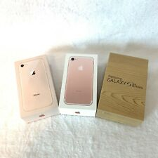 Samsung And Apple iPhone Cell Phone Boxes Only Empty Boxes Only