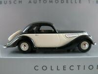 Busch 40281 EMW 327 Coupé (1952) in schwarz/creme 1:87/H0 NEU/OVP