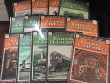 Railways Of The World 13 magazines, Fred A Talbot, 1924, Cassell, Good