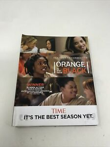 ORANGE IS THE NEW BLACK DVD NETFLIX 2013 FYC EMMY For Your Consideration 4-disc