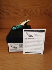 Raine Just the Right Shoe Coa Box Elegant Touch 25347 Step Into Elegance