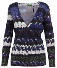 Public chaqueta de punto señora Women Cardigan tamaño 38 M con algodón & lana nuevo New