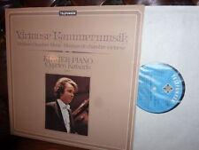 Virtuoso Chamber Music, Cyprien Katsaris, en direct, telefu
