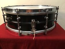 """Vintage Ludwig & Ludwig 5"""" X 14"""" Snare Drum 2 Piece Heavy Brass Shell 8 Lug 20's"""