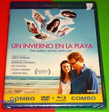 UN INVIERNO EN LA PLAYA / STUCK IN LOVE -COMBO BLUREY+DVD- AREA 2 English Españo